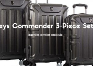 Travel In Style With The Heys Commander 3-Piece Set