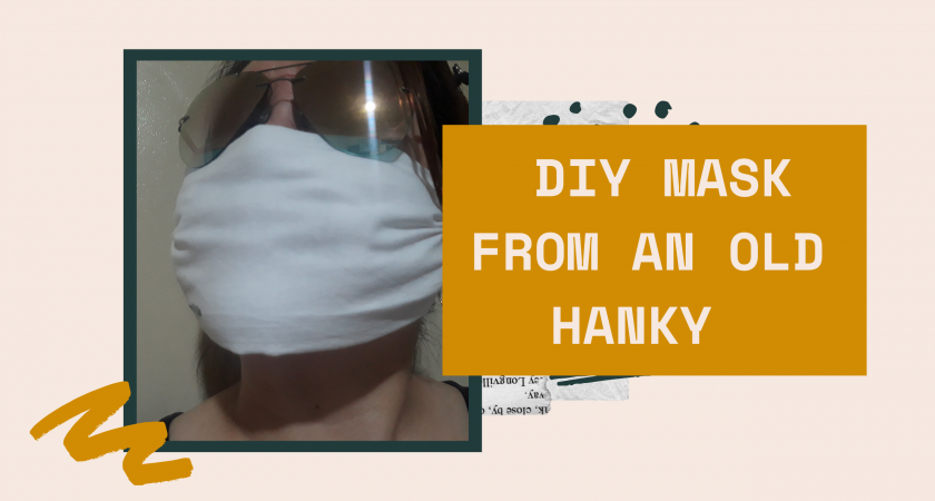 DIY Mask from an Old Hanky