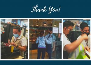 Thank You to all our Retail Front Liners